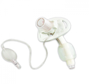 Image of Cuffed double lumen tracheostomy tube