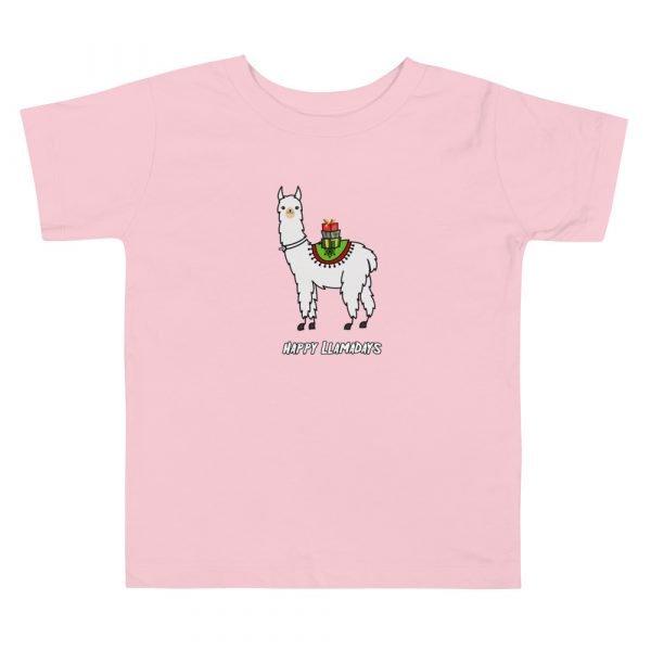christmas tracheostomy tube shirt happy llamma days