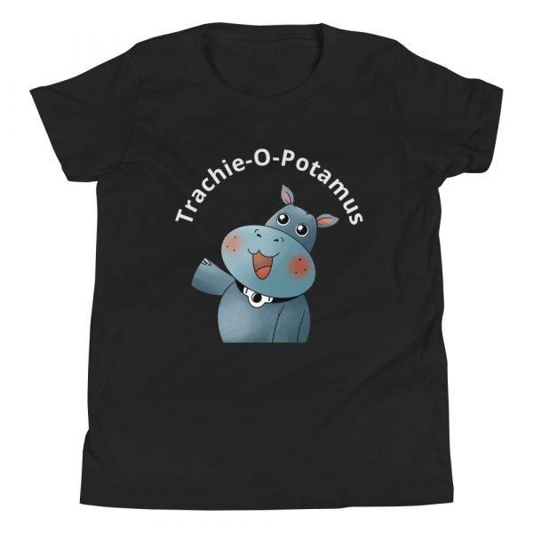 tracheostomy awareness trachie o potamus shirt