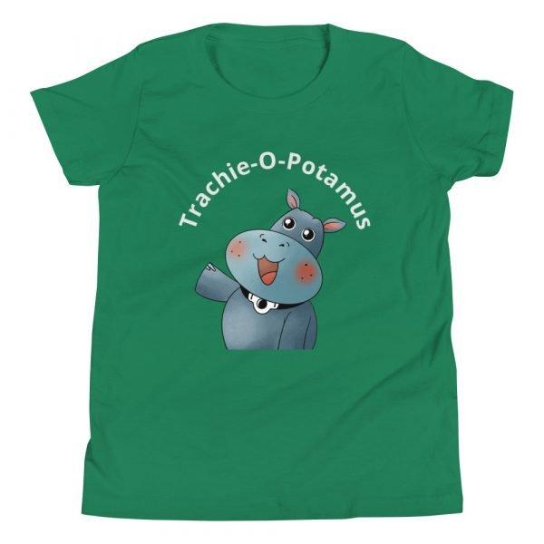 tracheostomy tshirt tracheostomy awareness tshirt trachie-o-potamus