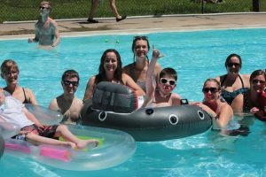 swimming with tracheostomy