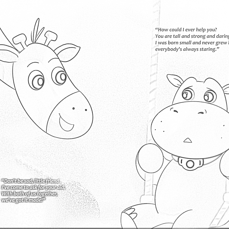 tracheostomy coloring book pages